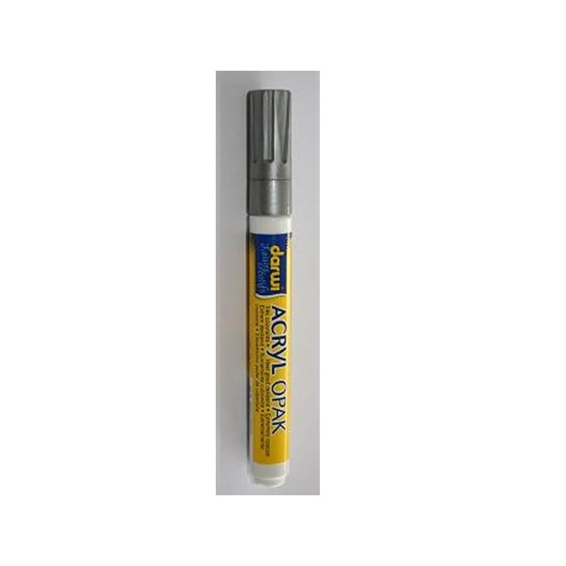 Feutre acrylique 3 mm opaque couleur argent