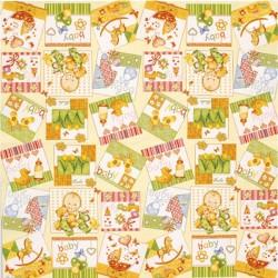 Serviettes décor Hindou