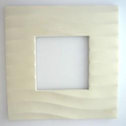 Cadre photo décor vagues en platre