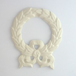 Cadre embellissement médaillon en platre