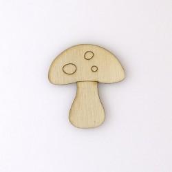 Champignon enfant n°3 en bois