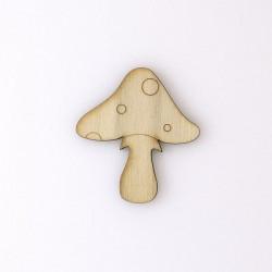 Champignon n°6 enfantin en bois