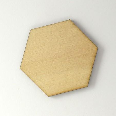Hexagone en bois