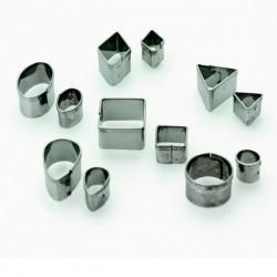 12 emporte pièce forme géométrique