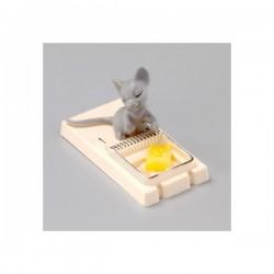 Piège à souris et fromage