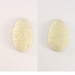 Lapin assis de Pâques en plâtre