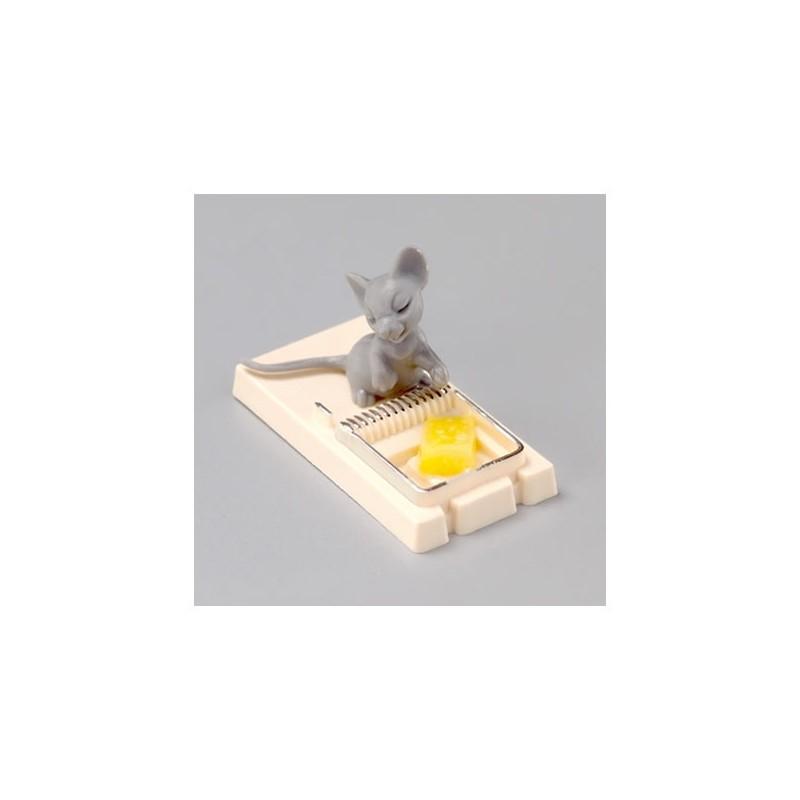 pi ge souris souris et fromage miniature embellissement d co table. Black Bedroom Furniture Sets. Home Design Ideas