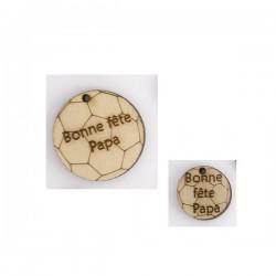 Ballon foot - Bonne fête Papa