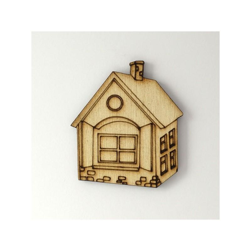 maison bois d corer fen tres volets pierre chemin e loisirs cr atifs. Black Bedroom Furniture Sets. Home Design Ideas