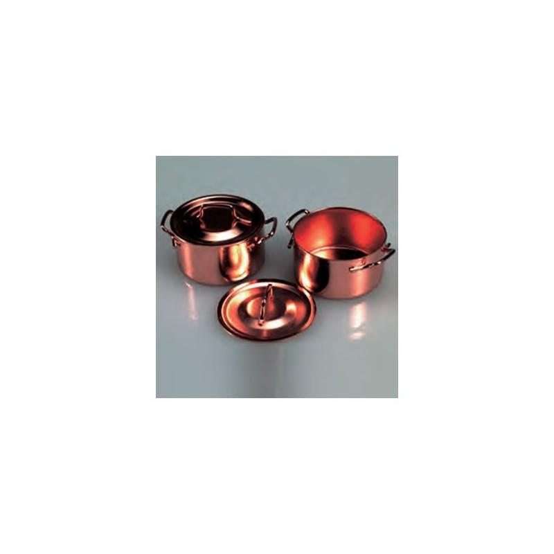 Casserole et couvercle miniature 3.5 cm
