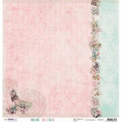 Papier Design 30,5 x 30,5 romantique Paris très chic studio light