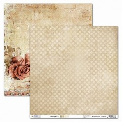Papier Design vintage 30,5 x 30,5 rose et texture studio light