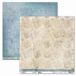 Papier Design vintage 30,5 x 30,5 fleurs et texture studio light