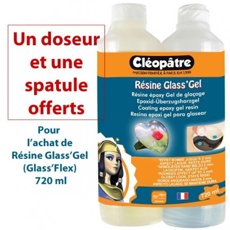 Résine Glass'Lack (Gel) Cléopatre 720 ml