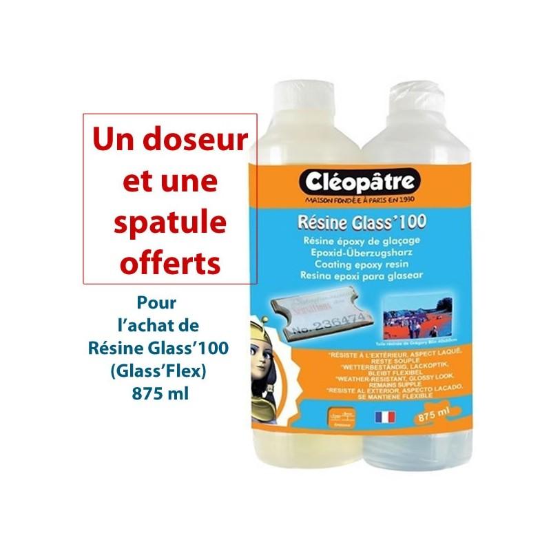 Résine Glass'100 (flex) Cléopatre