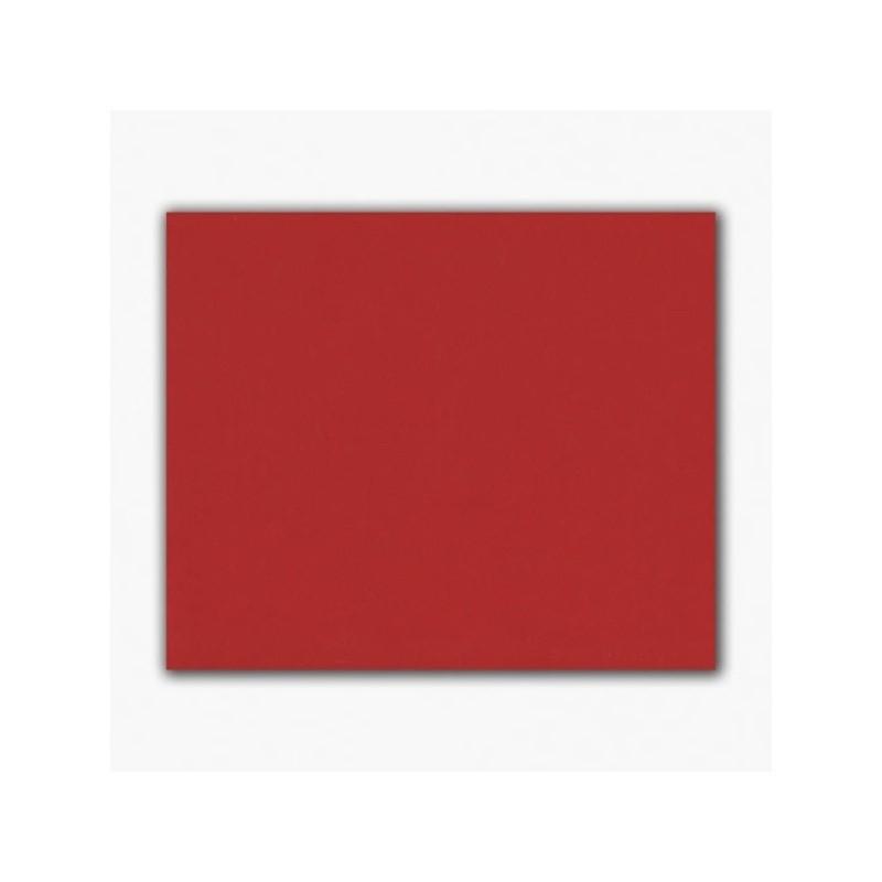 Feuille de feutrine rouge 25 x 30 cm rouge -  épaisseur 1 à 1,5 mm pour noël et autre