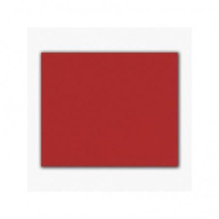 Feuille de feutrine 25 x 30 cm rouge -  épaisseur 1 à 1,5 mm