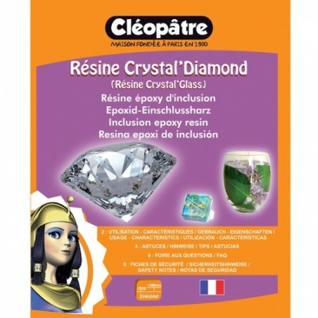 Résine Crystal'Diamond 720 ml Cléopatre