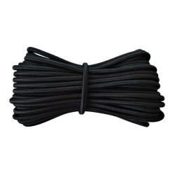 10 m de Fil élastique rond idéal confection masque facial noir2 mm