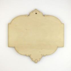 Plaque décorative n°2 perforée