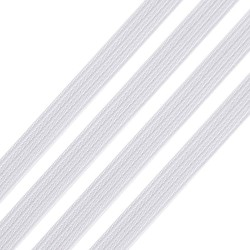 10 m Elastique blanc plat 3 mm confection masque barrière EN STOCK