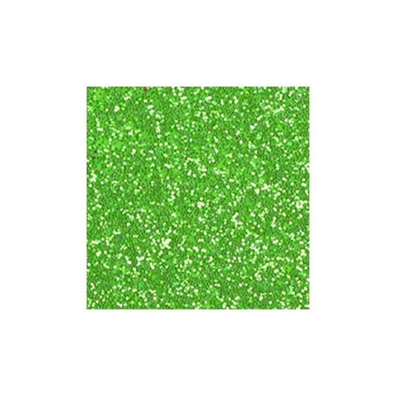 Créa-Soft paillete Vert anis 2 mm 20 x 30 cm