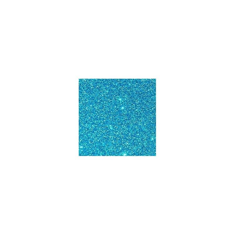 Créa-soft mousse bleu turquoise pailletée thermoformable 2 mm 20 x 30 cm fin de stock prix liquidation