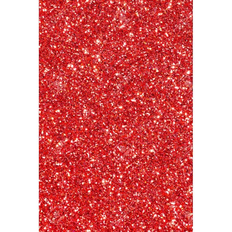 Mousse rouge Noël pailletée thermoformable Créa-Soft prix liquidation fin de stock