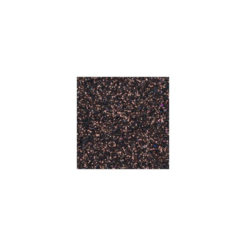 Mousse marron brun pailleté thermoformable Créa-Soft 2 mm 20 x 30 cm
