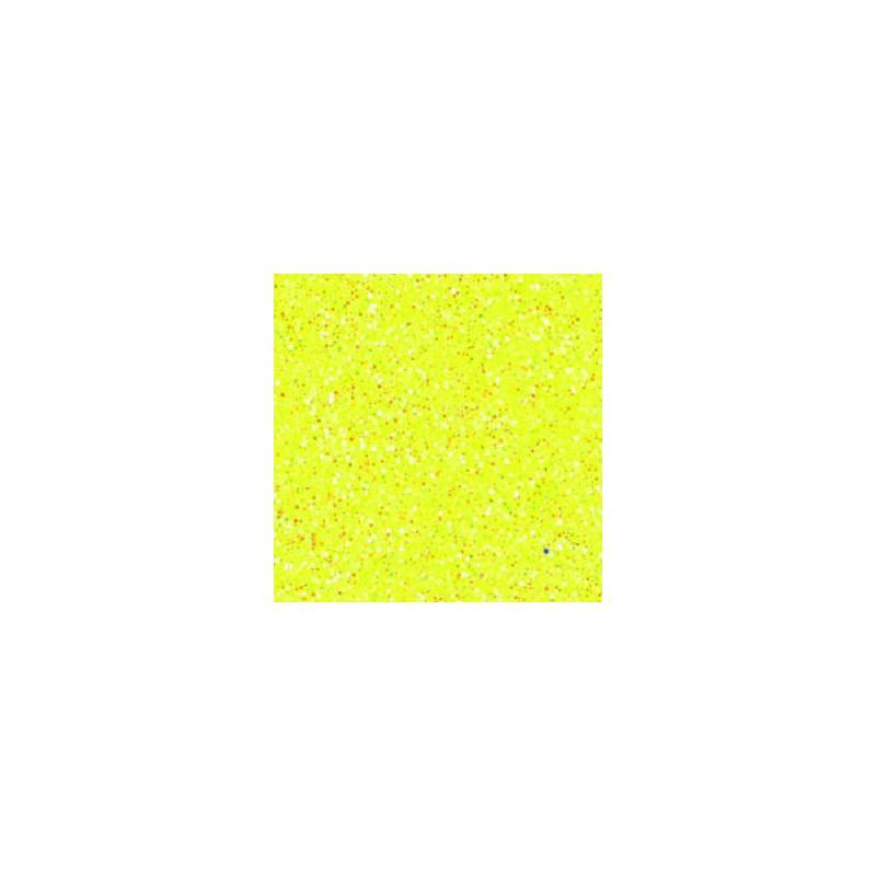Mousse jaune pailletée thermoformable Créa-Soft 2 mm 20 x 30 cm