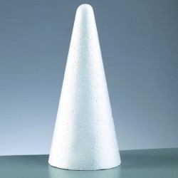 Cone en polystyrène très...