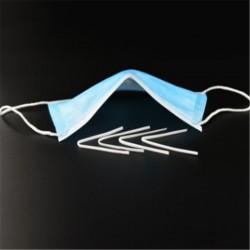 50 pince-nez (barrettes nasale) pour fabrication masque alternatif protection virus