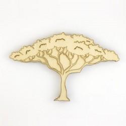 arbre savane africaine en bois