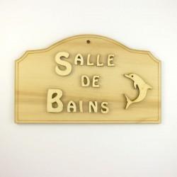 Plaque Salle de bains