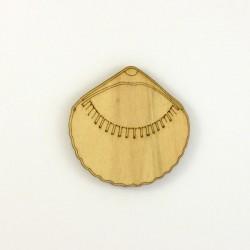 Coquillage n°4 en bois