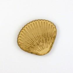 Coquillage en bois