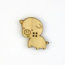 Bouton cochon