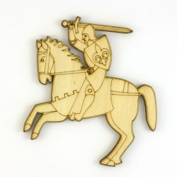 Chevalier avec cheval