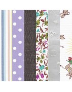 Tissu pour scrapbooking out patchwork