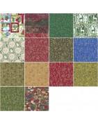 Tissu de Noël pour patchwork