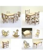 Packs de meubles en bois