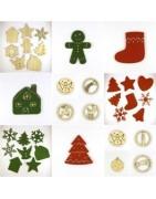 Mobiles et suspensions pour décorations de Noël