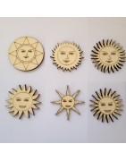 soleil, lune, étoile, nuage...