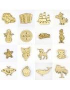 Loisir créatif  sujets et objets bois découpé fabriqué en France pour loisirs créatifs et scrapbooking