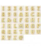 Lettres en bois pour loisirs créatifs et scrapbooking