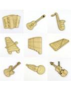 Instruments de musique - Loisirs créatifs