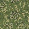 fleurs-vert-fonce-or